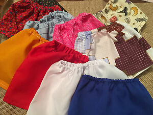 Fits-18-034-Madame-Alexander-My-Life-Our-Gen-Doll-CLothes-Skirt-Lot-of-10pc-RANDOM