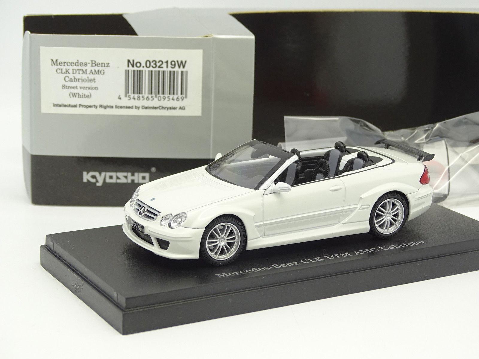 Kyosho Kyosho Kyosho 1 43 - Mercedes CLK AMG DTM Cabriolet white 56efdd