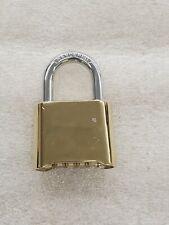 Custom Keyless Changeable Combination Padlock 1 716 Shackle