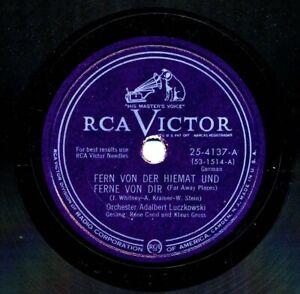 GERMAN-Orchester-ADALBERT-LUCZKOWSKI-on-RCA-Victor-25-4137-Glocken-der-Liebe