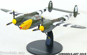 Ixo-Altaya-1-72-Lockheed-P-38J-Lightning-D-Day-markings-Normandie-1944