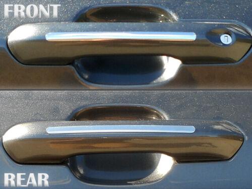 QAA DH60330 4 Pc Chrome Door Handle Accent Trim Fits Ford Explorer 2020