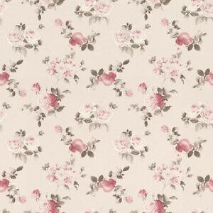 EUR-2-81-qm-Tapete-Rasch-Textil-288864-Petite-Fleur-4-Floral-Landhaus-Altrosa