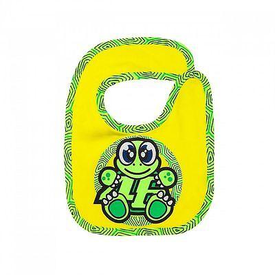 VR46 yellow Valentino Rossi Moto GP Kids Bib Kids BabyBIB Yellow//Grey