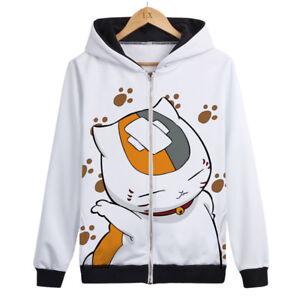 Anime-Natsume-Yuujinchou-Madara-Otaku-Cosplay-Hooded-Coat-ZIPPER-Jacket-Bo12