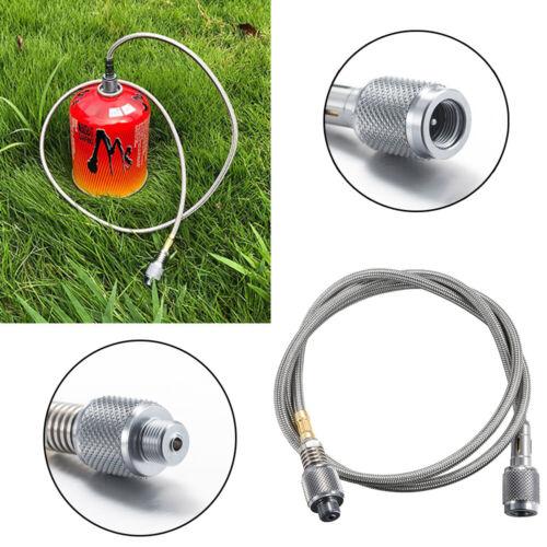 Propan Schlauch Ofen Rohr Schnell Verbinden LP Gas Line Adapter BBQ Grill Metall