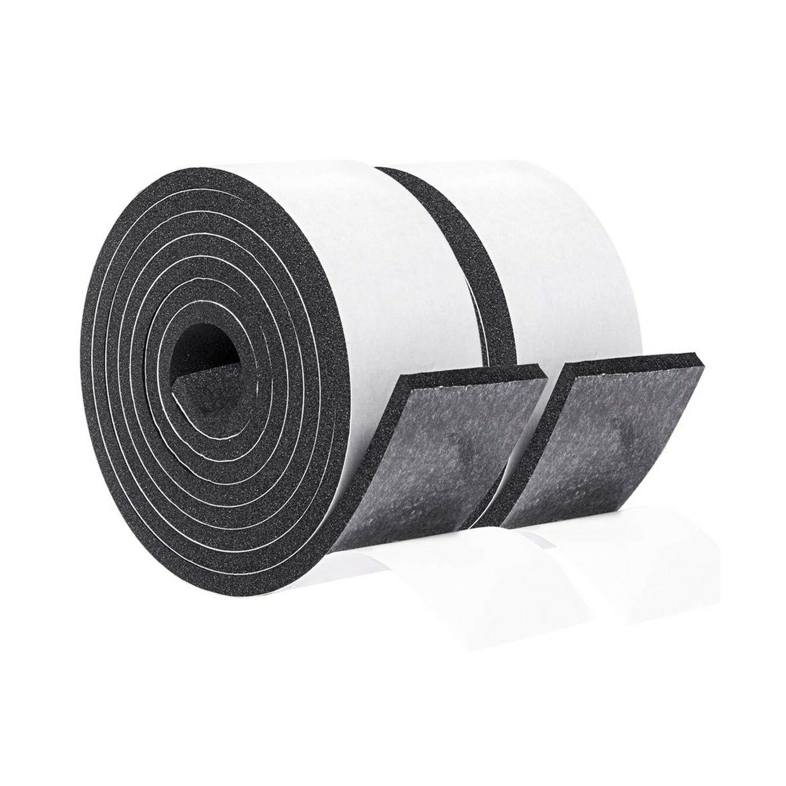 6 Ft Long X 6 Inch Wide X 1//16 Inch Thick Gourd Self Adhesive Weather Stripping Non-Slip Insulation Neoprene Rubber Tape
