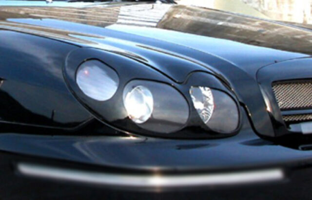 Front Head Lamp Cover Eyebrow Line UNPAINTED For 02 03 04 05 Hyundai Sonata EF