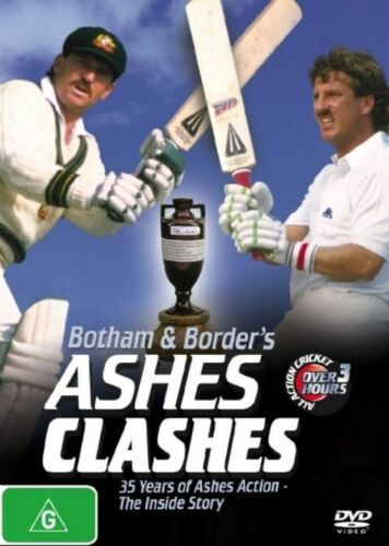 1 of 1 - Ashes Clashes (Botham and Border's) - New/Sealed DVD Region 4