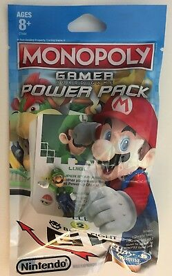 Super Mario Monopoly Gamer Board Game Power Pack Figure Luigi Free Shipping Ebay
