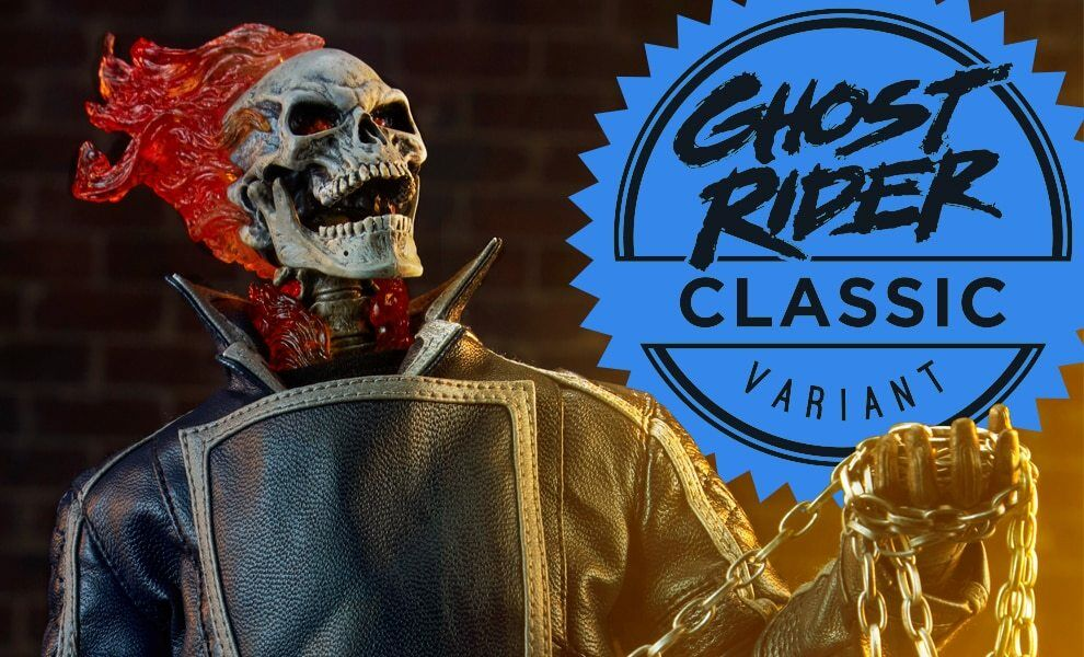 Ghost Rider - Classic Variant Sixth Scale Figure by Sideshow Collectibles