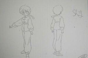 Original-Ranma-1-2-Character-Anime-Production-Setting-Notes-Pencil-Art-Cel-Douga
