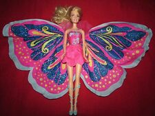 Barbie Fairy-Tastic toy Doll Blonde Hair Transforming butterfly Wings
