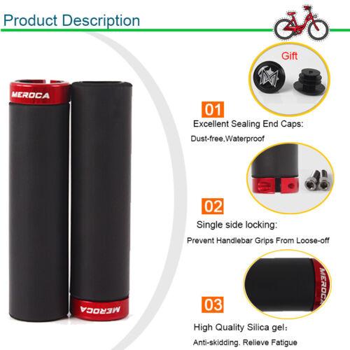 1 Pair BMX MTB Bike Grips Mountain Bicycle Bike Bar Ends Plugs Cycling Accessory