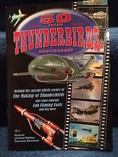 THUNDERBIRDS 50 years Anniversary signed by Alan Shubrook Booklet Gerry Anderson