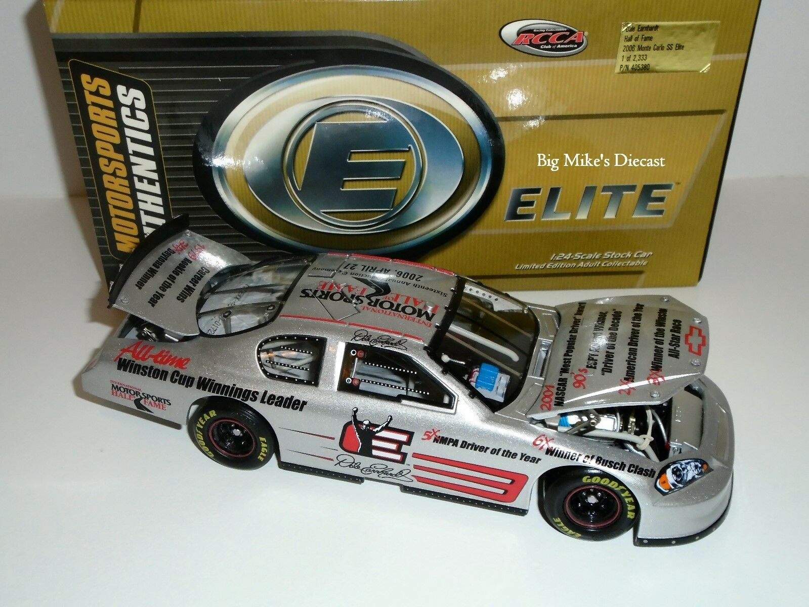 2006 Dale Earnhardt Hall of Fame 1 24 Scale ELITE Diecast
