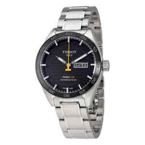 Tissot-PRS-516-Automatic-Black-Dial-Men-039-s-Watch-T100-430-11-051-00