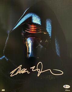 Adam-Conductor-Firmado-Star-Wars-Jedi-Skywalker-11x14-Photo-Kylo-Ren-Beckett
