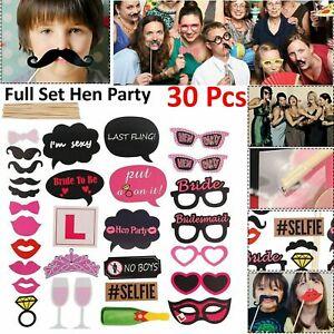 30pcs-Drole-Fete-Accessoires-Photo-Booth-Moustache-Anniversaire-Noel-mariage-Selfie