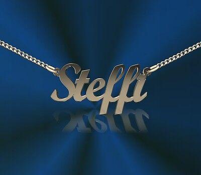 Namenskette 925 Silber   heute bezahlt morgen versandt!