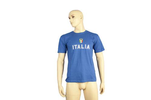 MAGLIETTA COTONE ITALIA T SHIRT NAZIONALE ITALIANA EUROPEI MONDIALI ADULTO