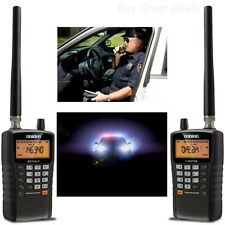 Handheld Radio Scanner Police Emergency Fire Digital Portable Aircraft Marine
