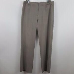 J-Jill-Stretch-Gray-Women-039-s-Dress-Slack-Pants-Size-12-Actual-34-x-32