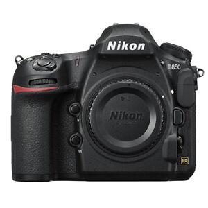 尼康 d850 數碼單反相機機身 45.7mp 4k FX 格式