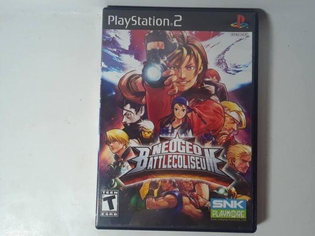 NeoGeo Battle Coliseum (Sony PlayStation 2, 2007)