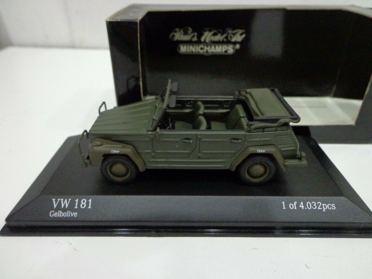 tienda de bajo costo 430050031 VW 181 181 181 Kubelwagen 1 43 Minichamps  marca