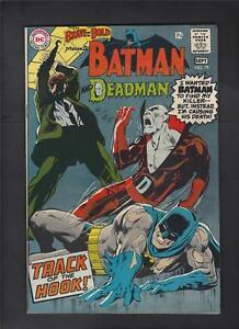 Brave and Bold 79 VF 8.0 1st Adams Art in Title Deadman Batman Hi-Res Scans