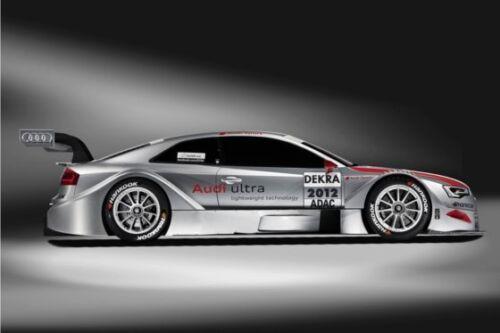 2012 Audi A5 DTM CARS6230 Art Print Poster A4 A3 A2 A1