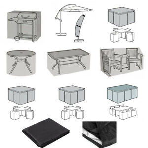 black garden furniture covers. Image Is Loading Black-Waterproof-Patio-Furniture-Covers-for-Outdoor-Garden- Black Garden Furniture Covers T