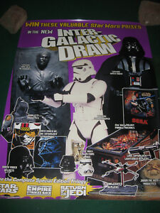 1997-Star-Wars-Inter-Galactic-Draw-Taco-Bell-Poster-18-X-24-Promo-RARE