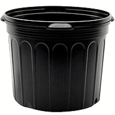7 Gallon Black Nursery Pots Qty 6