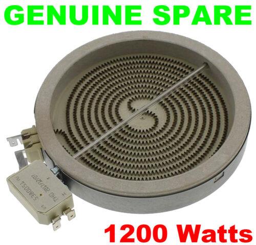 Hotpoint 6535P 6540B 6541P BE32B BE32K BE32N BE32P plaque en céramique Élément 1200 W