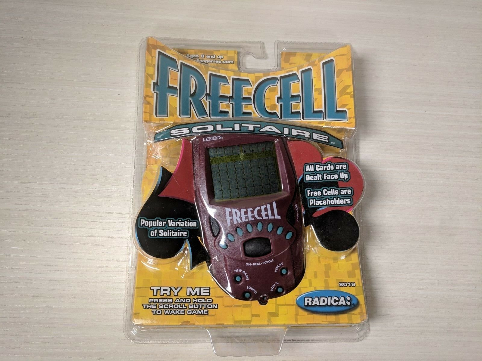 comprar ahora New Vintage rara 2000 de de de mano FreeCell solitario juego radica 8019 Sellado  tienda en linea