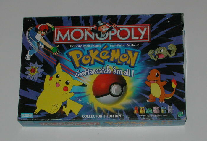 Pokemon Monopoly COMPLETE EXCELLENT CONDITION
