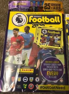 Premier league sticker book 2019