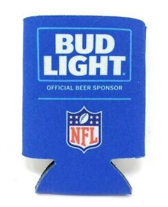 Authentic-NFL-Bud-Light-Beer-Koozie-Coolie-Can-Hugger-Licensed