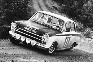 Image Is Loading 1966 Lotus Cortina Mk 1 At RAC Rally