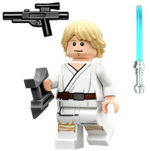 New Lego Star Wars Luke Skywalker Minifig Figure Minifigure 75173
