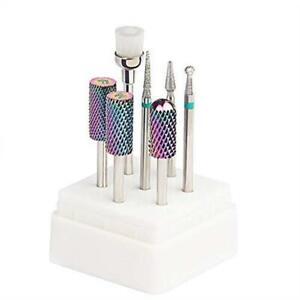 Tungsten-Carbide-Diamond-Carbide-Nail-Drill-Bits-Set-ECBASKET-Nail-File-Bits