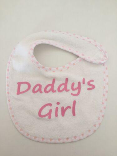 Daddy's Girl Baby Bib