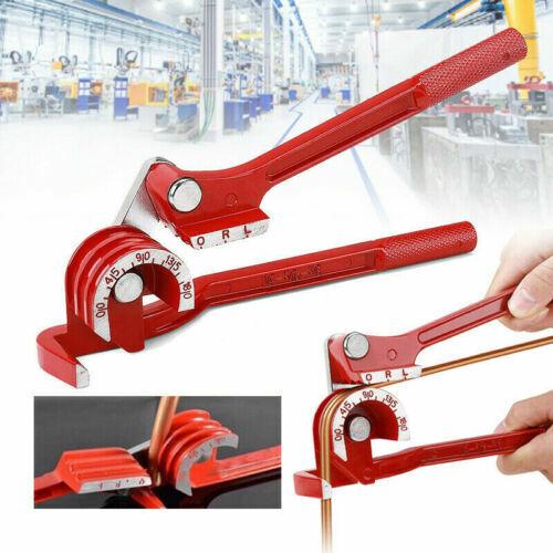 """Handheld Copper Pipe Tube Bender 1//4/"""" 5//16/"""" 3//8/"""" 3 In 1 180° Bending Elbow Tool"""