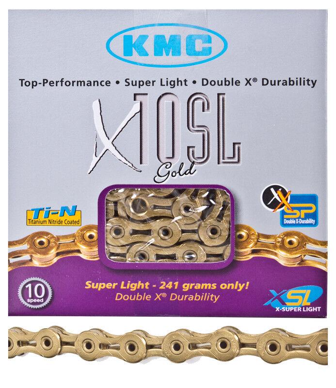 Kmc X10ti Catena Kmc 1  2x332 X10 Ti 5.88mm Ultra Leggero Tigd 116l