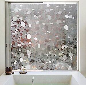 Pellicola adesiva per finestre opacizzante vetro finestre sticker bagno privacy ebay - Pellicola specchio per finestre ...