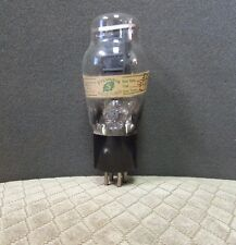 TUNG SOL TYPE 50 POWER TRIODE VACUUM TUBE ENGRAVED BASE SINGLE PLATE