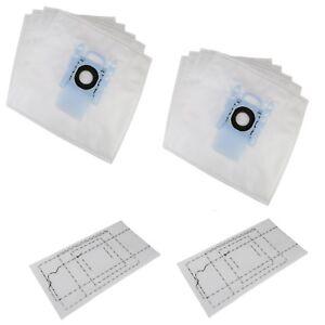 10-X-TYPE-G-microfibre-Sac-Poussiere-Aspirateur-FILTRES-POUR-BOSCH-bbs633