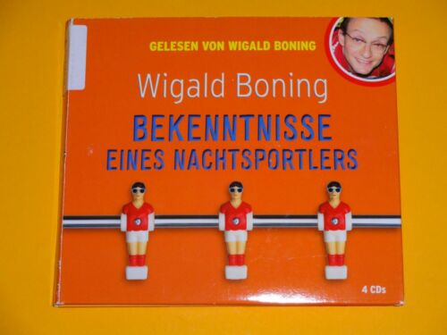 1 von 1 - *4 CD* Wigald Boning - Bekenntnisse eines Nachtsportlers * audio media *